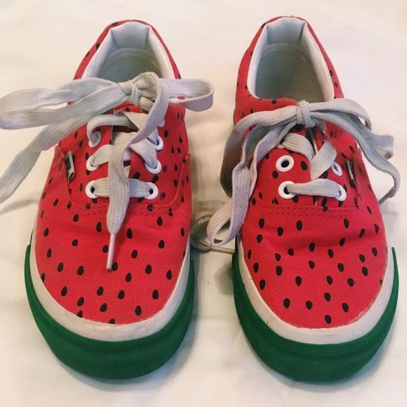 no sale tax uk cheap sale new products RARE Watermelon Vans